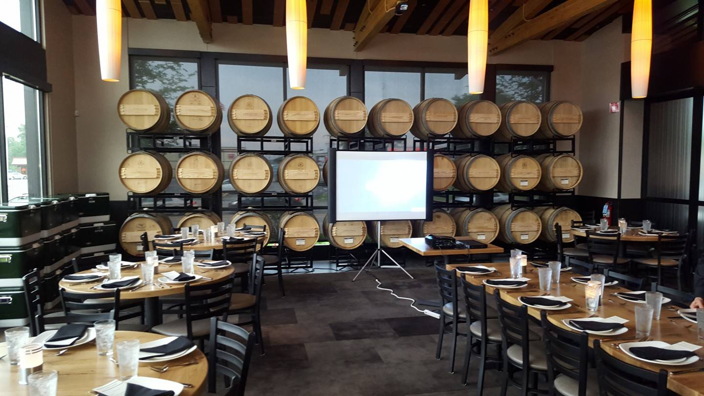 Private Dining Room - Barrel Room - Host Your Professional Event With Us!