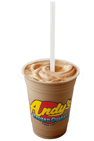 Shakes Vanilla or Chocolate frozen custard blended with your favorite topping,