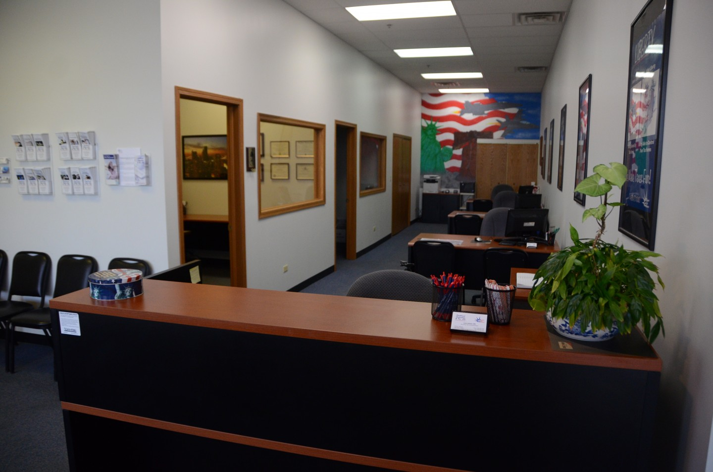 General office area
